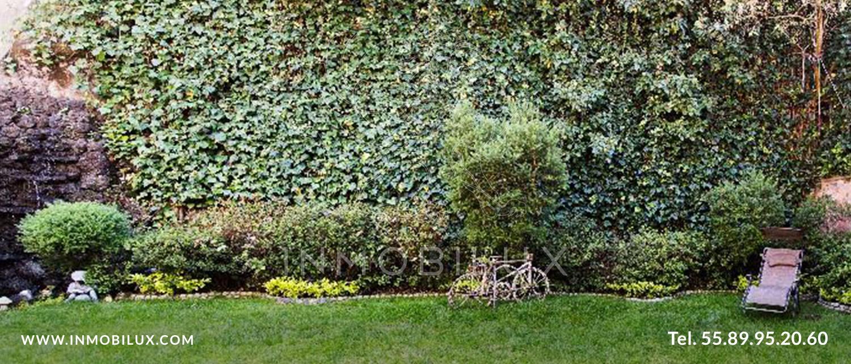 jardin casa en bosques de la herradura