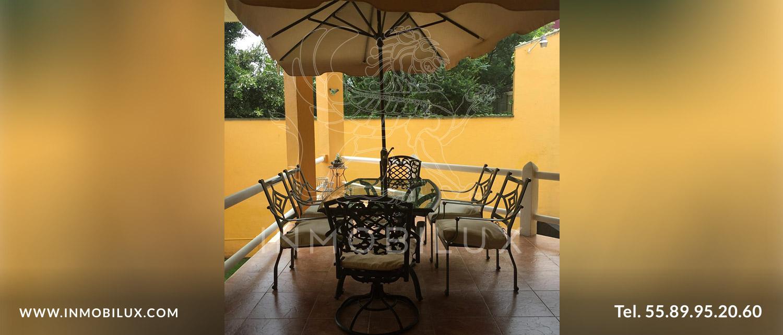 terraza casa en Fuentes del Pedregal