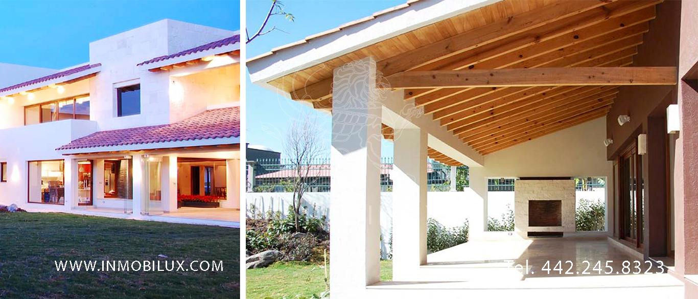 jardin casa en club de golf El Campanario