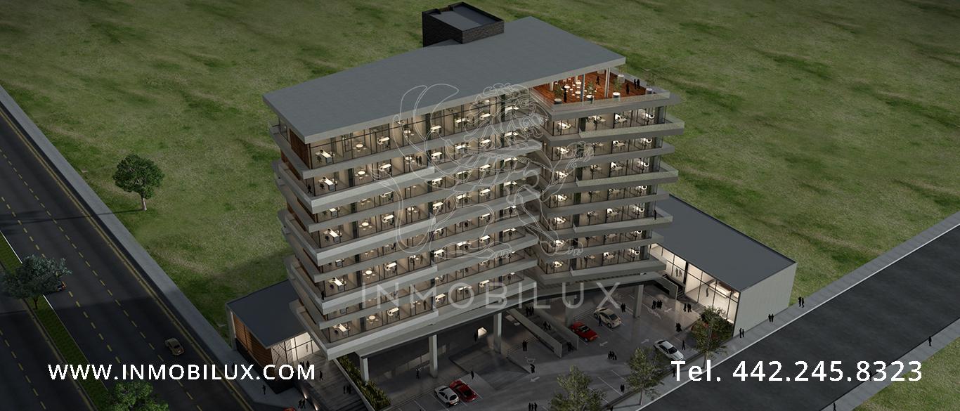 vista aérea edificio de oficinas Altius Corporate Center