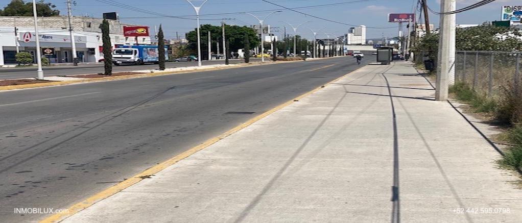 Avenida Terreno Comercial Queretaro