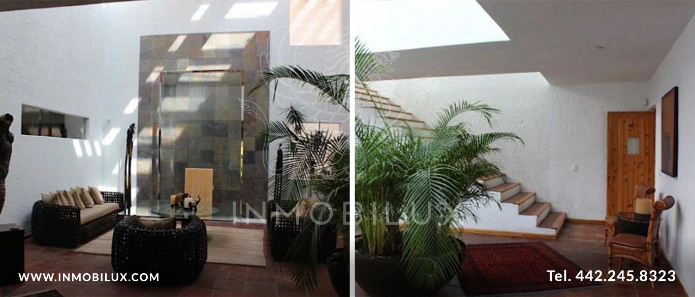 interior casa El Campanario Querétaro