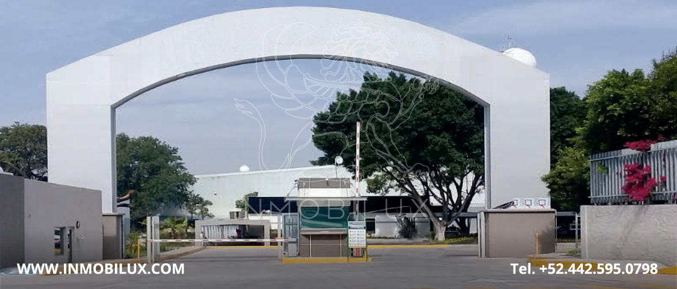 fachada parque industrial