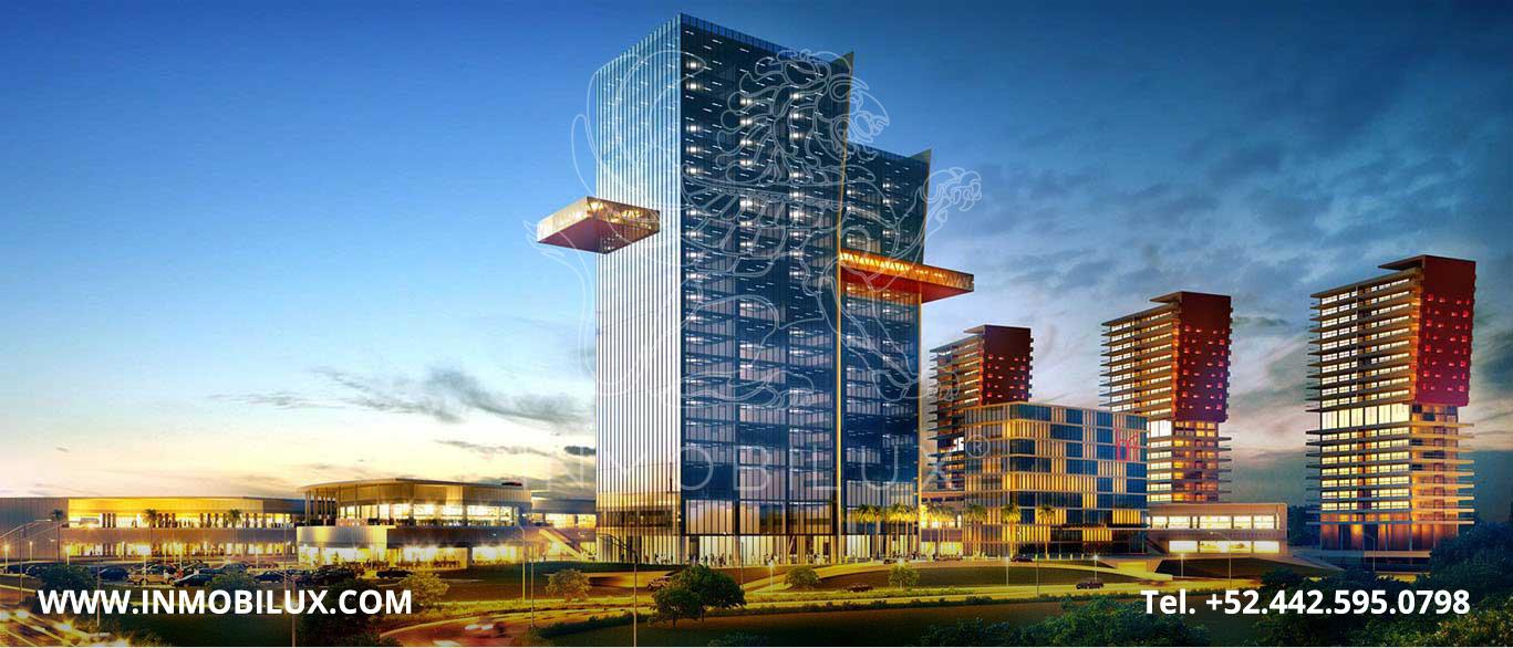 edificio oficinas central park queretaro