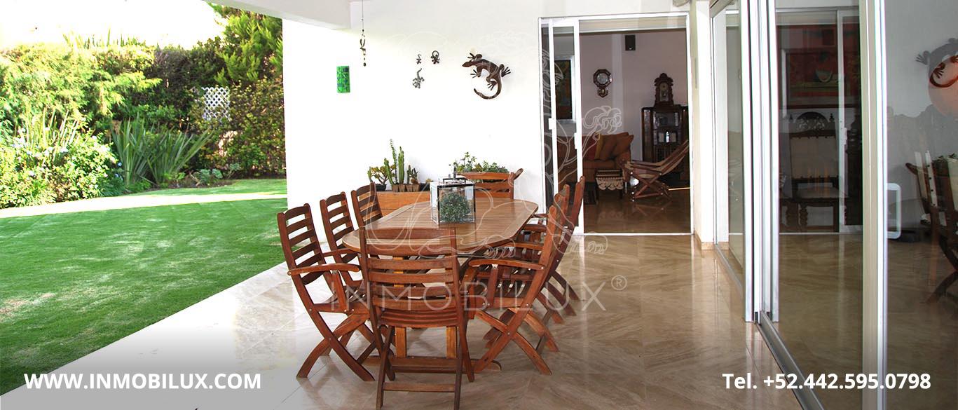 Comedor Exterior Casa 8 El Campanario