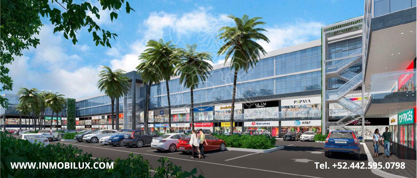 estacionamiento locales comerciales La Reserva El Campanario