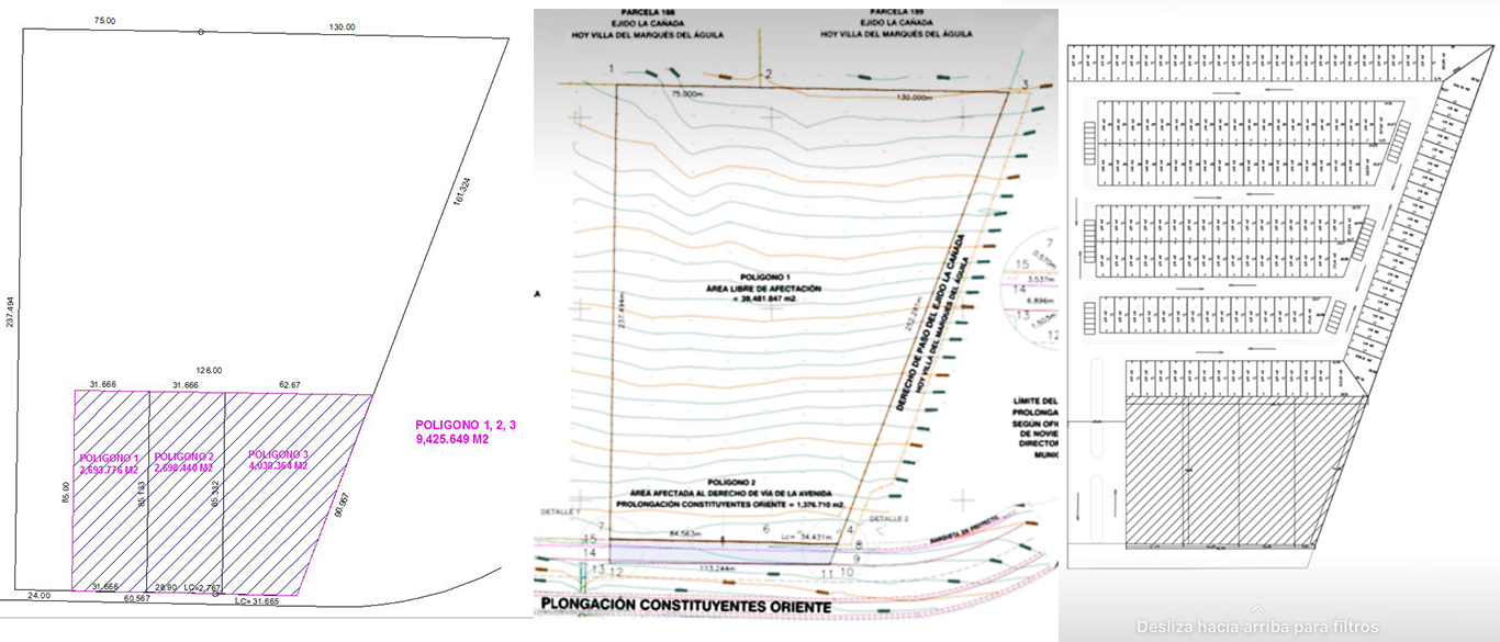 planos terreno para desarrollador en Querétaro
