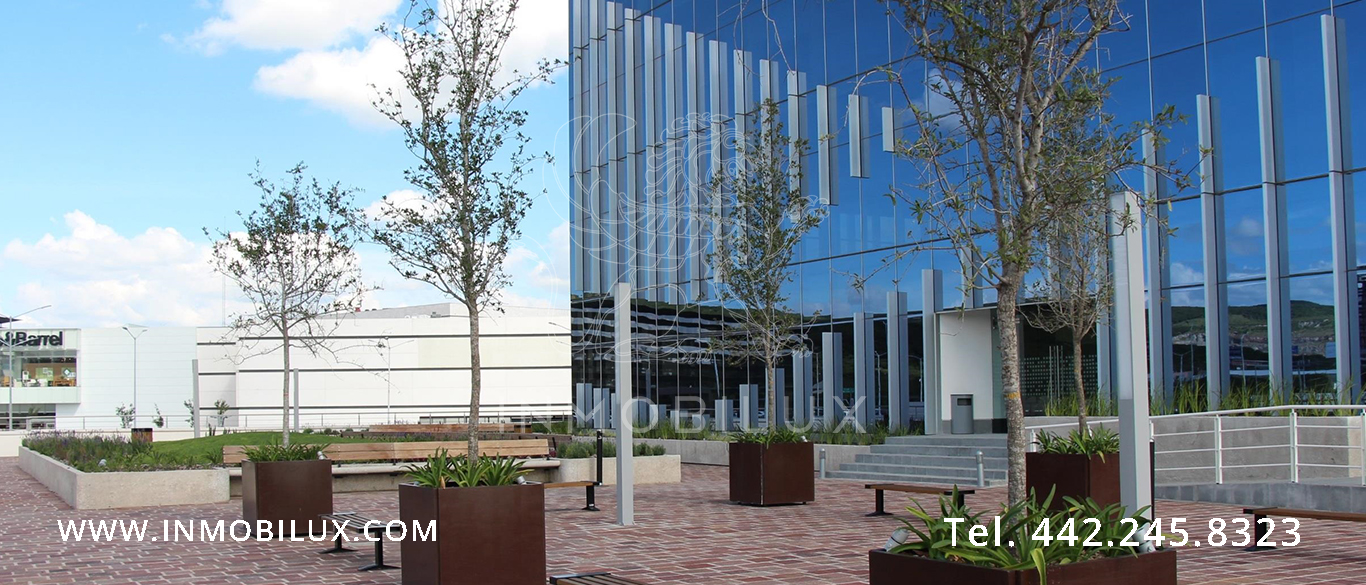 explanada edificio de oficinas Querétaro Business Park