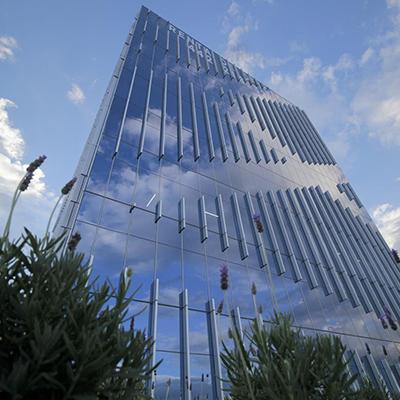 miniatura edificio de oficinas Querétaro Business Park