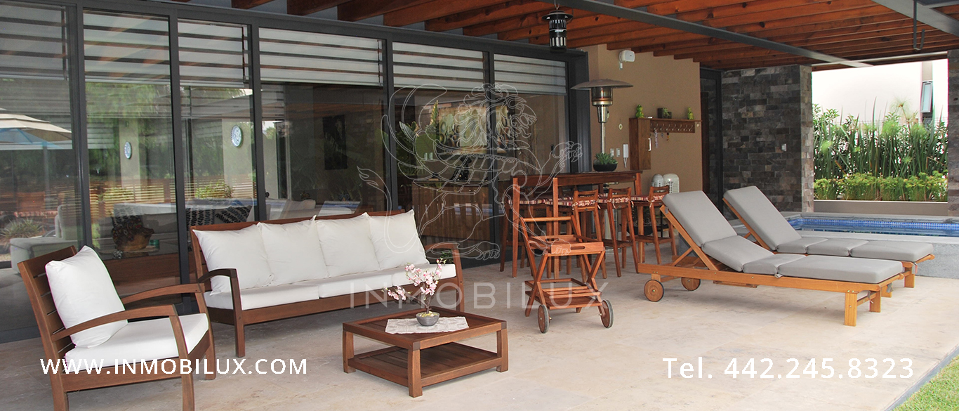 jardin casa en Balvanera Polo & Country Club