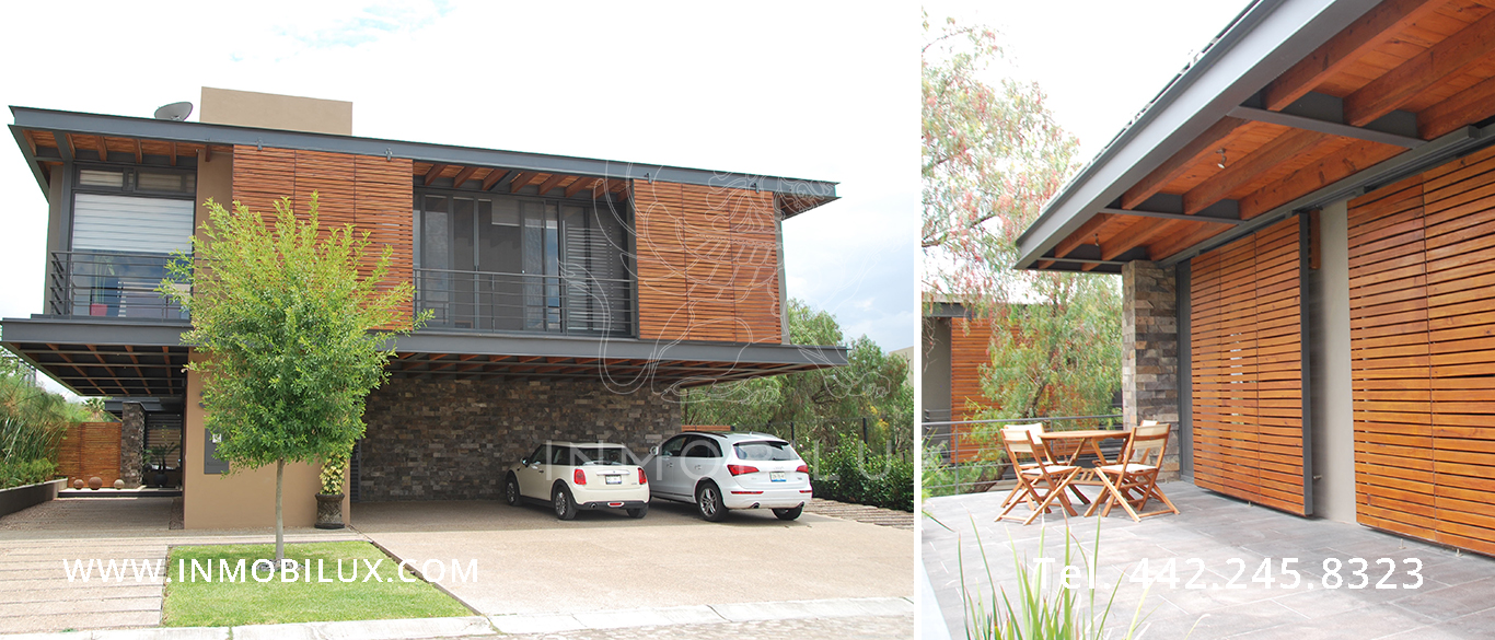 fachada casa en Balvanera Polo & Country Club