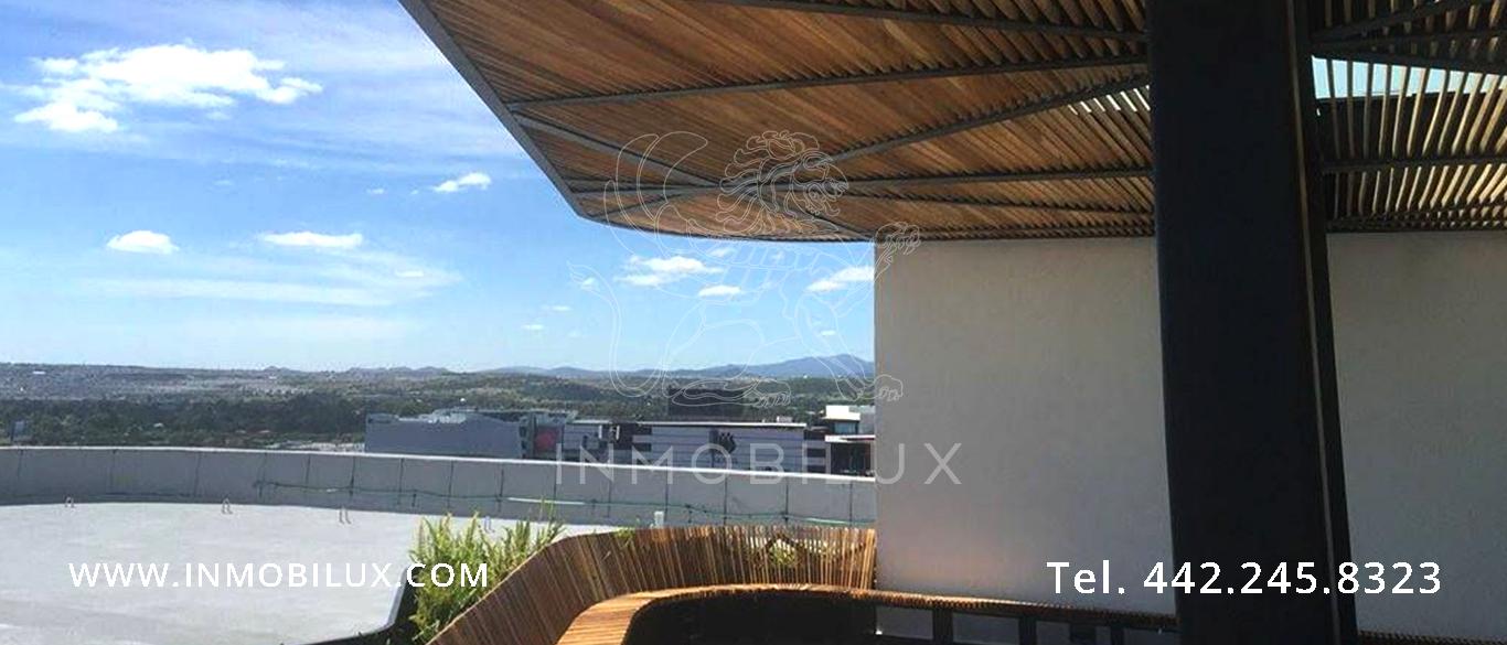 vista desde terraza Edificio oficinas Corporativo Uptown